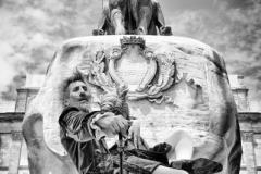 Concursante 06 Titulo : Quijote y dulcinea en la Isla